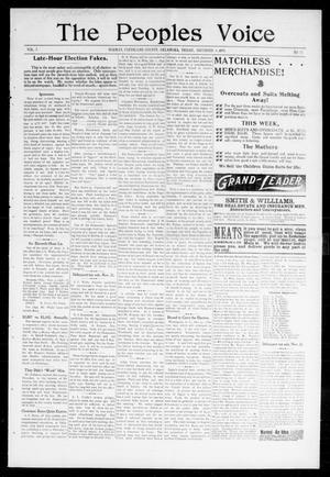 The Peoples Voice (Norman, Okla.), Vol. 7, No. 15, Ed. 1 Friday, November 4, 1898