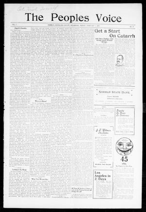 The Peoples Voice (Norman, Okla.), Vol. 7, No. 28, Ed. 1 Friday, February 3, 1899