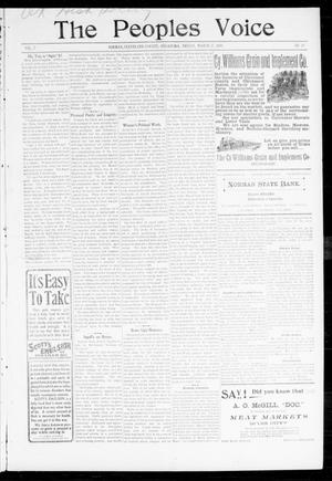 The Peoples Voice (Norman, Okla.), Vol. 7, No. 34, Ed. 1 Friday, March 17, 1899