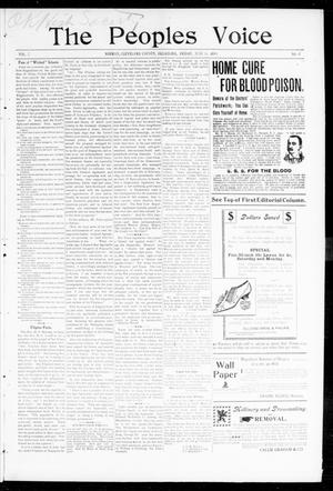 The Peoples Voice (Norman, Okla.), Vol. 7, No. 47, Ed. 1 Friday, June 16, 1899
