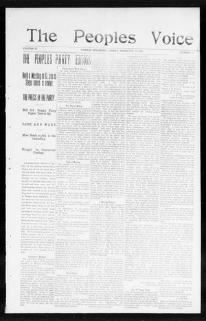 The Peoples Voice (Norman, Okla.), Vol. 13, No. 32, Ed. 1 Friday, February 17, 1905