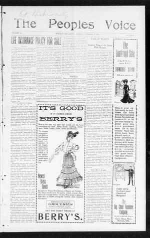 The Peoples Voice (Norman, Okla.), Vol. 14, No. 16, Ed. 1 Friday, October 27, 1905