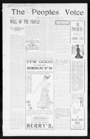 The Peoples Voice (Norman, Okla.), Vol. 14, No. 17, Ed. 1 Friday, November 3, 1905