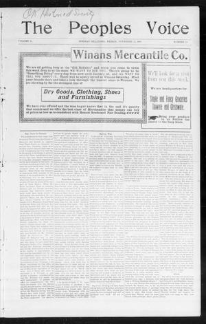 The Peoples Voice (Norman, Okla.), Vol. 14, No. 19, Ed. 1 Friday, November 17, 1905