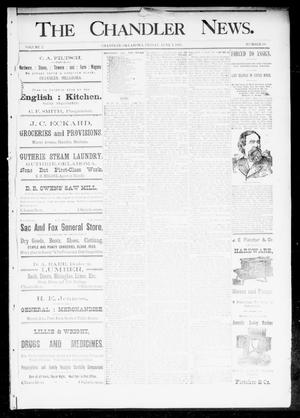 Primary view of The Chandler News. (Chandler, Okla.), Vol. 2, No. 38, Ed. 1 Friday, June 2, 1893