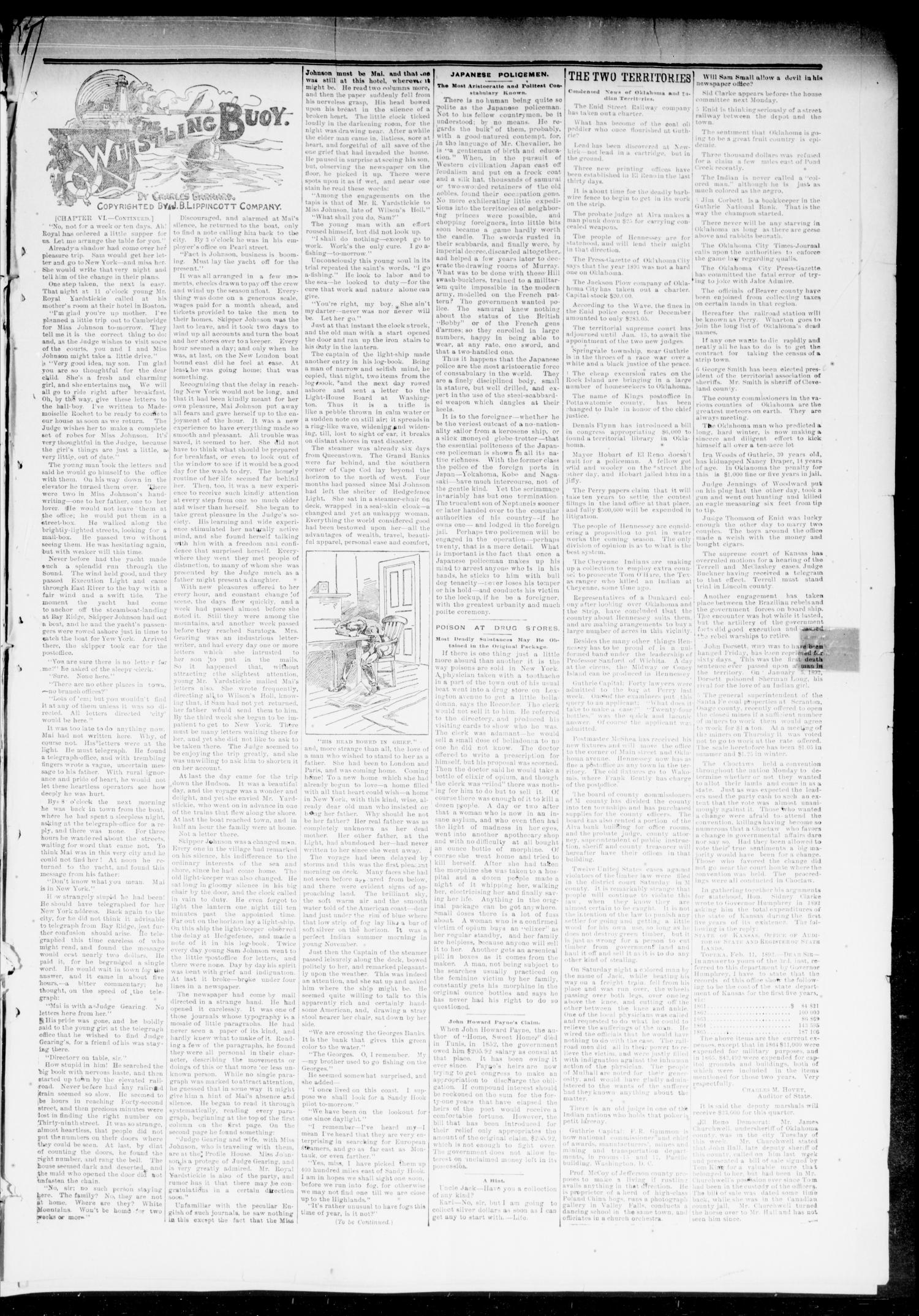 The Chandler News. (Chandler, Okla.), Vol. 3, No. 17, Ed. 1 Friday, January 19, 1894                                                                                                      [Sequence #]: 3 of 8
