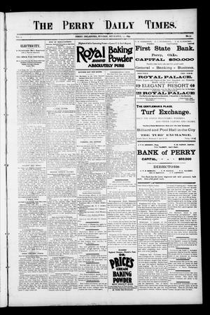 Primary view of object titled 'The Perry Daily Times. (Perry, Okla.), Vol. 2, No. 55, Ed. 1 Monday, November 19, 1894'.