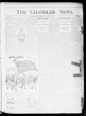 Primary view of object titled 'The Chandler News. (Chandler, Okla.), Vol. 3, No. 51, Ed. 1 Friday, November 23, 1894'.