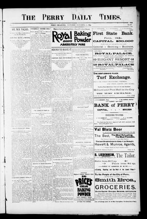 Primary view of object titled 'The Perry Daily Times. (Perry, Okla.), Vol. 2, No. 76, Ed. 1 Thursday, December 20, 1894'.