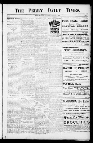 Primary view of object titled 'The Perry Daily Times. (Perry, Okla.), Vol. 2, No. 79, Ed. 1 Monday, December 24, 1894'.