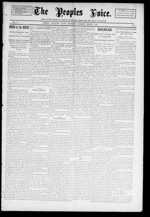 The Peoples Voice. (Norman, Okla.), Vol. 3, No. 31, Ed. 1 Saturday, March 2, 1895