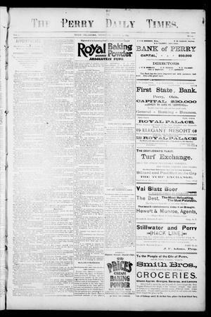 Primary view of object titled 'The Perry Daily Times. (Perry, Okla.), Vol. 2, No. 141, Ed. 1 Thursday, March 7, 1895'.