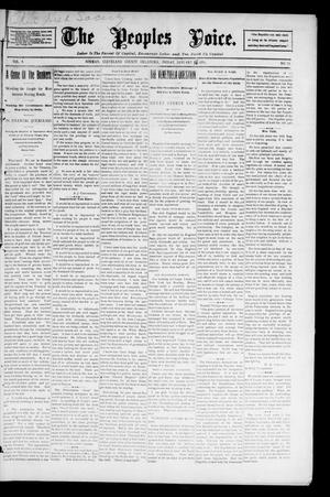 The Peoples Voice. (Norman, Okla.), Vol. 4, No. 24, Ed. 1 Friday, January 10, 1896