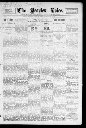 The Peoples Voice. (Norman, Okla.), Vol. 4, No. 25, Ed. 1 Friday, January 17, 1896