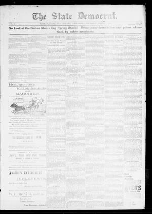 Primary view of object titled 'The State Democrat. (Norman, Okla.), Vol. 7, No. 72, Ed. 1 Thursday, April 9, 1896'.