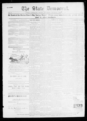 Primary view of object titled 'The State Democrat. (Norman, Okla.), Vol. 7, No. 71, Ed. 1 Sunday, April 12, 1896'.