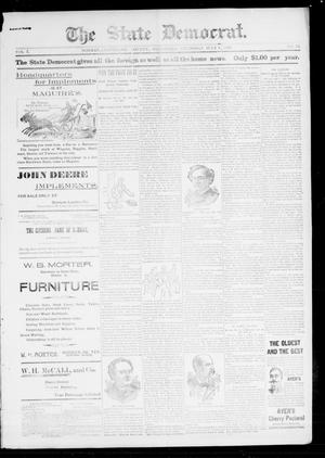 The State Democrat. (Norman, Okla.), Vol. 7, No. 85, Ed. 1 Thursday, July 9, 1896
