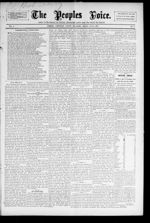 The Peoples Voice. (Norman, Okla.), Vol. 4, No. 50, Ed. 1 Friday, July 10, 1896
