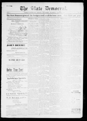 The State Democrat. (Norman, Okla.), Vol. 7, No. 89, Ed. 1 Thursday, August 6, 1896