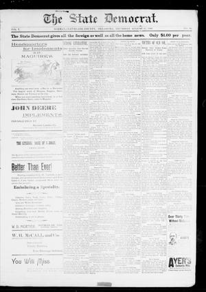 The State Democrat. (Norman, Okla.), Vol. 7, No. 90, Ed. 1 Thursday, August 13, 1896