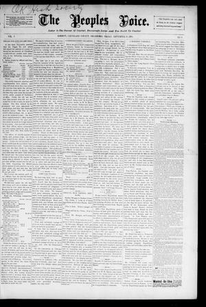 The Peoples Voice. (Norman, Okla.), Vol. 5, No. 8, Ed. 1 Friday, September 18, 1896