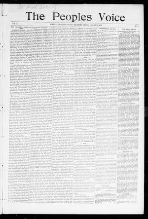 The Peoples Voice (Norman, Okla.), Vol. 5, No. 25, Ed. 1 Friday, January 15, 1897