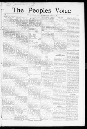 The Peoples Voice (Norman, Okla.), Vol. 5, No. 26, Ed. 1 Friday, January 22, 1897