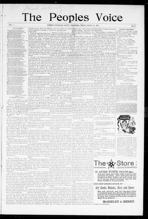 The Peoples Voice (Norman, Okla.), Vol. 5, No. 34, Ed. 1 Friday, March 19, 1897