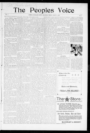 The Peoples Voice (Norman, Okla.), Vol. 5, No. 35, Ed. 1 Friday, March 26, 1897