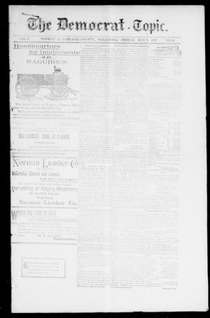 Primary view of object titled 'The Democrat-Topic. (Norman, Okla.), Vol. 8, No. 40, Ed. 1 Sunday, May 9, 1897'.