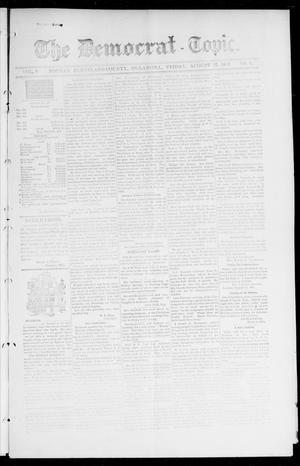 Primary view of object titled 'The Democrat-Topic. (Norman, Okla.), Vol. 9, No. 4, Ed. 1 Friday, August 27, 1897'.