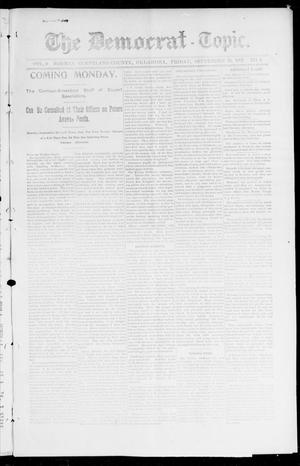 Primary view of object titled 'The Democrat-Topic. (Norman, Okla.), Vol. 9, No. 8, Ed. 1 Tuesday, September 21, 1897'.
