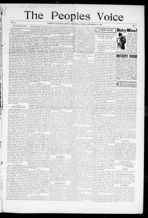 The Peoples Voice (Norman, Okla.), Vol. 6, No. 9, Ed. 1 Friday, September 24, 1897