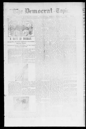 Primary view of object titled 'The Democrat-Topic. (Norman, Okla.), Vol. 9, No. 9, Ed. 1 Friday, October 1, 1897'.