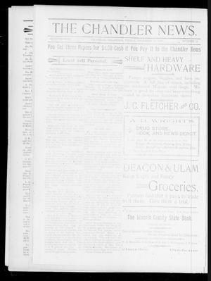 Primary view of object titled 'The Chandler News. (Chandler, Okla.), Vol. 7, No. 13, Ed. 2 Friday, December 17, 1897'.
