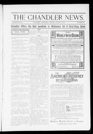 Primary view of The Chandler News. (Chandler, Okla.), Vol. 7, No. 24, Ed. 2 Friday, March 4, 1898