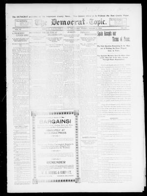 Primary view of object titled 'The Democrat-Topic. (Norman, Okla.), Vol. 9, No. 52, Ed. 1 Friday, August 5, 1898'.