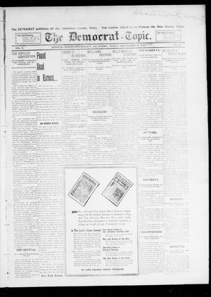 Primary view of object titled 'The Democrat-Topic. (Norman, Okla.), Vol. 10, No. 6, Ed. 1 Friday, September 16, 1898'.