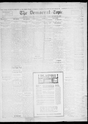 Primary view of object titled 'The Democrat-Topic. (Norman, Okla.), Vol. 10, No. 12, Ed. 1 Friday, October 28, 1898'.