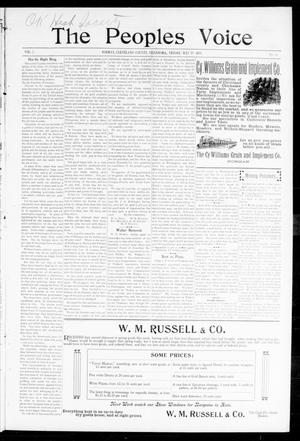 The Peoples Voice (Norman, Okla.), Vol. 7, No. 42, Ed. 1 Monday, May 22, 1899