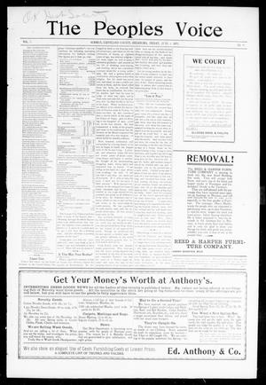The Peoples Voice (Norman, Okla.), Vol. 7, No. 45, Ed. 1 Friday, June 2, 1899