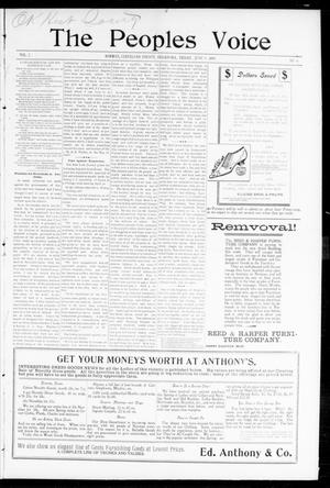 The Peoples Voice (Norman, Okla.), Vol. 7, No. 46, Ed. 1 Wednesday, June 7, 1899