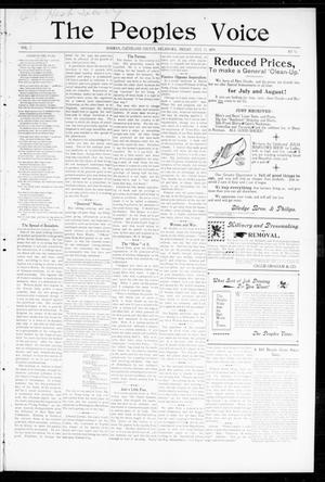 The Peoples Voice (Norman, Okla.), Vol. 7, No. 52, Ed. 1 Friday, July 21, 1899