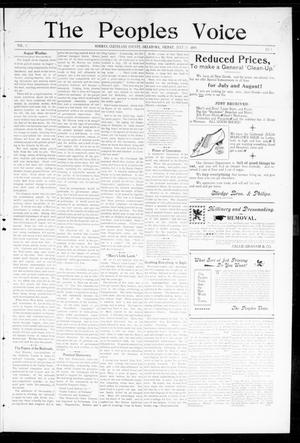 The Peoples Voice (Norman, Okla.), Vol. 8, No. 1, Ed. 1 Friday, July 28, 1899