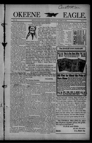 Primary view of Okeene Eagle. (Okeene, Okla.), Vol. 20, No. 47, Ed. 1 Thursday, October 22, 1914