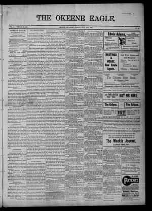 Primary view of The Okeene Eagle. (Okeene, Okla.), Vol. 7, No. 39, Ed. 1 Friday, July 12, 1901