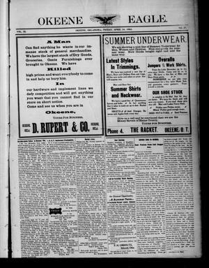 Primary view of Okeene Eagle. (Okeene, Okla.), Vol. 9, No. 27, Ed. 1 Friday, April 24, 1903