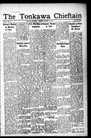 Primary view of The Tonkawa Chieftain (Tonkawa, Okla.), Vol. 10, No. 32, Ed. 1 Thursday, January 22, 1914
