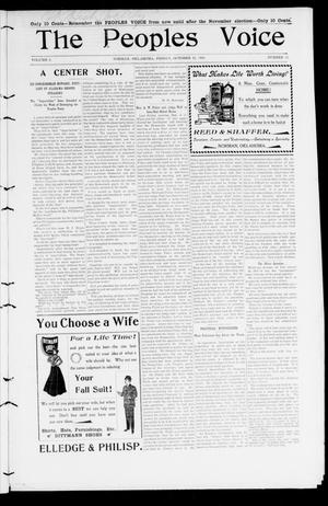 The Peoples Voice (Norman, Okla.), Vol. 9, No. 12, Ed. 1 Friday, October 12, 1900
