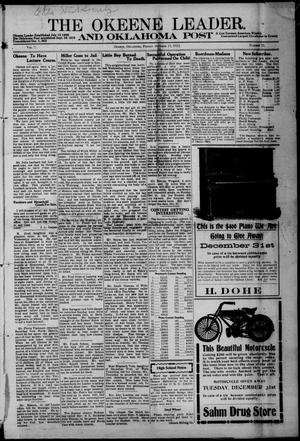 Primary view of object titled 'The Okeene Leader. And Oklahoma Post (Okeene, Okla.), Vol. 7, No. 12, Ed. 1 Friday, October 11, 1912'.